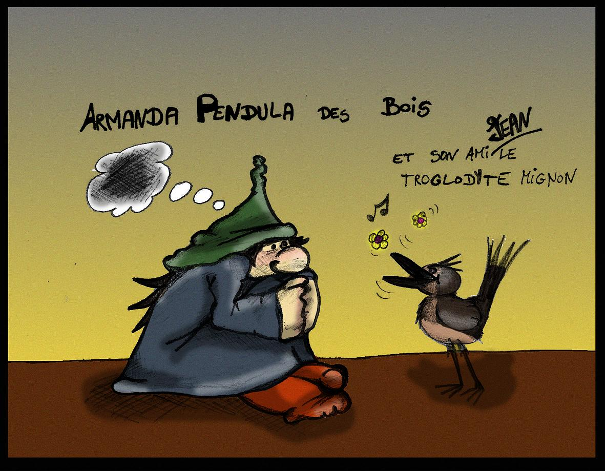 Armanda Pendula des Bois et Jean le troglodyte mignon
