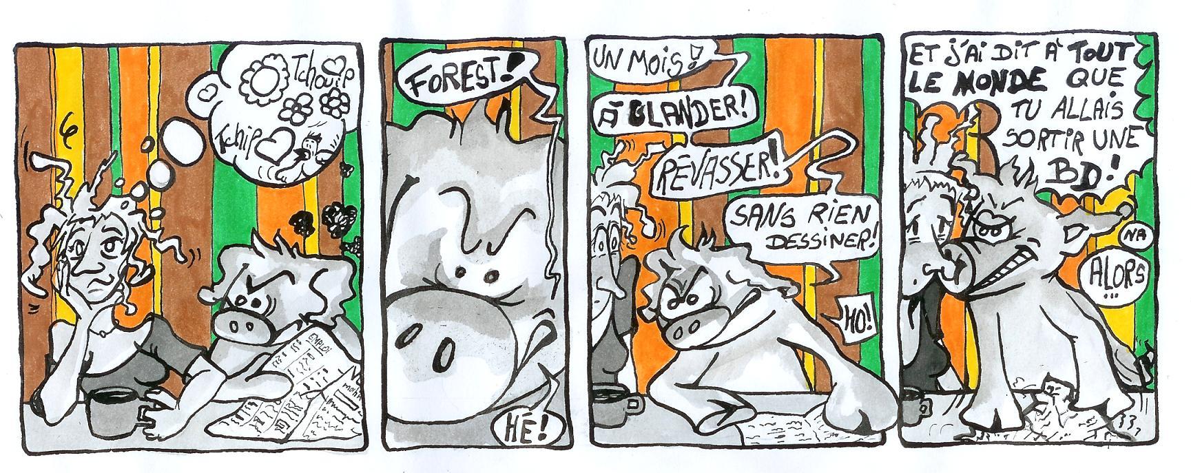 Groink et Forest glandouillent