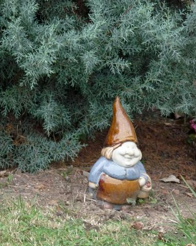 Groink et Forest Nains de jardins